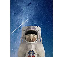 Space Astronaut Photographic Print