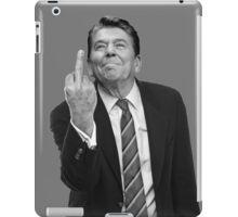 Ronald Reagan Middle Finger iPad Case/Skin