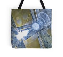 Tickle the Light That is the Doorway to Infinity Tote Bag