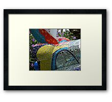 Mosaic Shuttle Framed Print