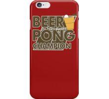 Beer Pong Funny TShirt Epic T-shirt Humor Tees Cool Tee iPhone Case/Skin