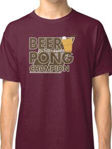 Beer Pong Funny TShirt Epic T-shirt Humor Tees Cool Tee Classic T-Shirt