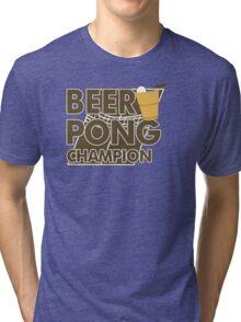 Beer Pong Funny TShirt Epic T-shirt Humor Tees Cool Tee Tri-blend T-Shirt