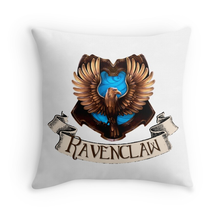 Ravenclaw Crest | Throw Pillow