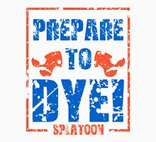 Prepare to Dye! Splatoon Series (Orange & Blue) Unisex T-Shirt