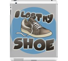 I Lost My Shoe iPad Case/Skin