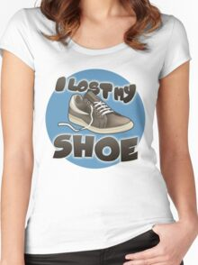 I Lost My Shoe Women's Fitted Scoop T-Shirt