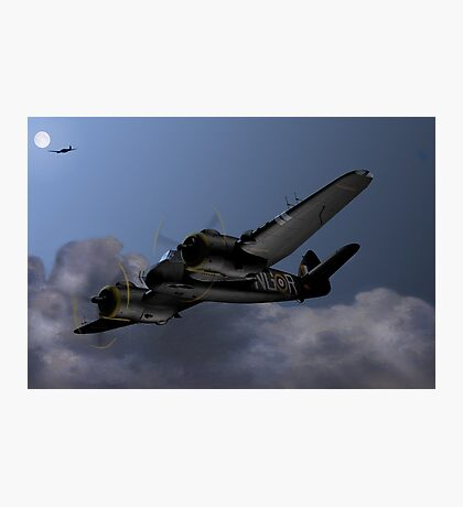 Cats Eyes, (Bristol Beaufighter nightfighter) Photographic Print