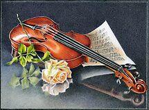 Violin by Valentina Gatewood