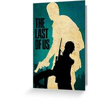 The Last Of Us Road to survival Greeting Card