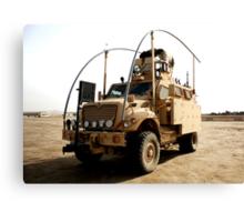MRAP in Iraq Canvas Print