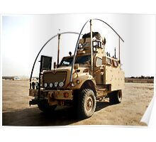 MRAP in Iraq Poster