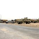 Iraqi Army Convoy by Charles Buchanan