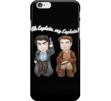 Oh Captain, My Captain! iPhone Case/Skin