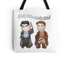 Oh Captain, My Captain! Tote Bag