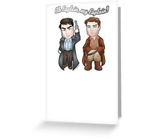 Oh Captain, My Captain! Greeting Card
