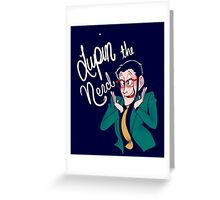 Lupin the Nerd Greeting Card