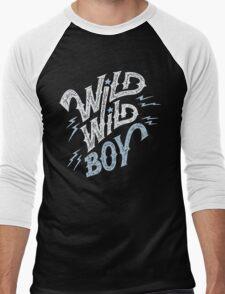 Wild Wild Boy Men's Baseball ¾ T-Shirt