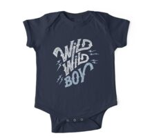 Wild Wild Boy One Piece - Short Sleeve
