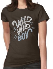 Wild Wild Boy Womens Fitted T-Shirt