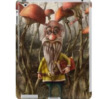 Aalbert Van Edeborg from Mushroom Mountains iPad Case/Skin