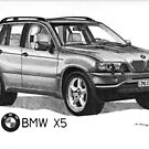 BMW X5 4.4i by Steve Pearcy