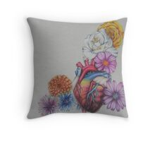 Beautiful Heart Throw Pillow