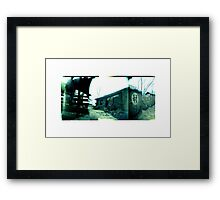 The old village Framed Print