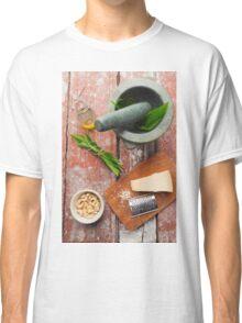 Wild garlic pesto Classic T-Shirt