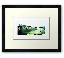 The old village 02 Framed Print