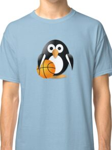 Penguin with a basketball ball Classic T-Shirt
