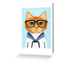 The Little Sailor Greeting Card