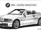 BMW e46 3 series Convertible by Steve Pearcy
