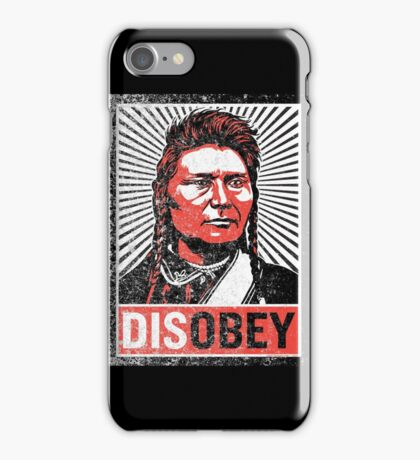 Chief Joseph Disobey iPhone Case/Skin