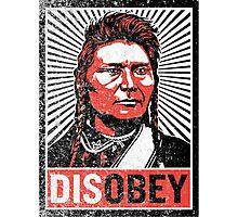 Chief Joseph Disobey Photographic Print
