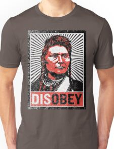 Chief Joseph Disobey Unisex T-Shirt