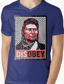 Chief Joseph Disobey Mens V-Neck T-Shirt