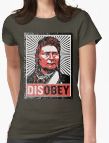 Chief Joseph Disobey Womens Fitted T-Shirt