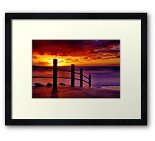 """Anglesea Morningtide"" Framed Print"