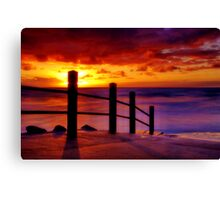 """Anglesea Morningtide"" Canvas Print"