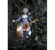 A Little Faerie Music Photographic Print