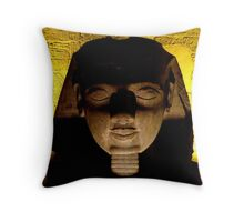 Head of admiration Throw Pillow