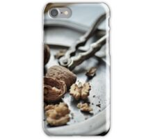 Nuts about walnuts iPhone Case/Skin