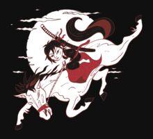 Samurai Moon by Joozu