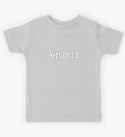 V 1.0 - Not a Clone - Authentic Version T-Shirt Sticker Kids Tee