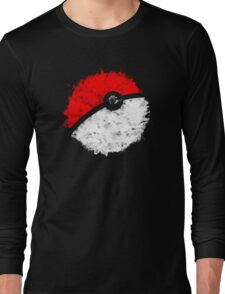 Poké Ball Long Sleeve T-Shirt