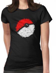 Poké Ball Womens Fitted T-Shirt