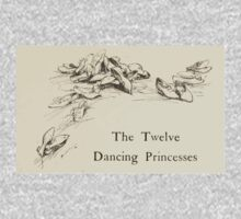 Hansel & Grethel & Other Tales by Grimm Wilelm and Jacob art by Arthur Rackham 0071 Twelve Dancing Princesses One Piece - Short Sleeve