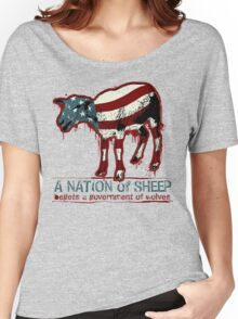 A Nation of Sheep Women's Relaxed Fit T-Shirt