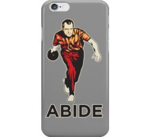 Bowling Nixon Abide  iPhone Case/Skin